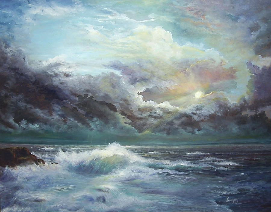 ocean paintings - Google Search   Great Art Ideas   Pinterest ...