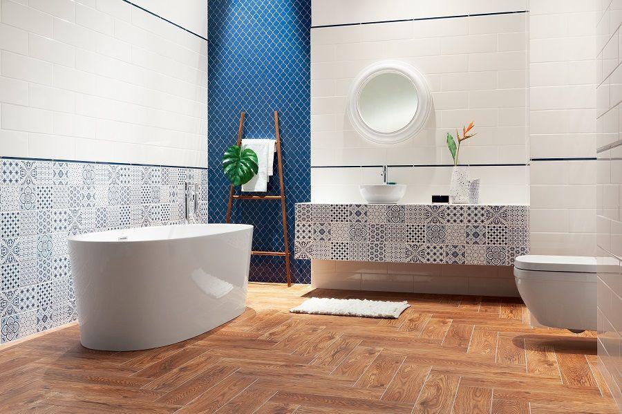 Leroymerlin Leroymerlinpolska Dlabohaterowdomu Domoweinspiracje Lazienka Wanna Bath Bathroom Mozaika Avignon Bathroom White Wall Tiles