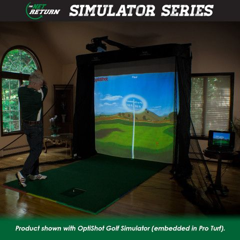OptiShot Golf Simulator with Simulator Series