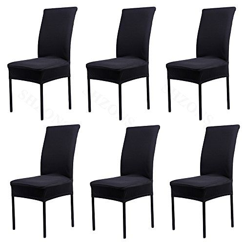 Shzons Universal Stretch Spandex Removable Washable Dining Chair
