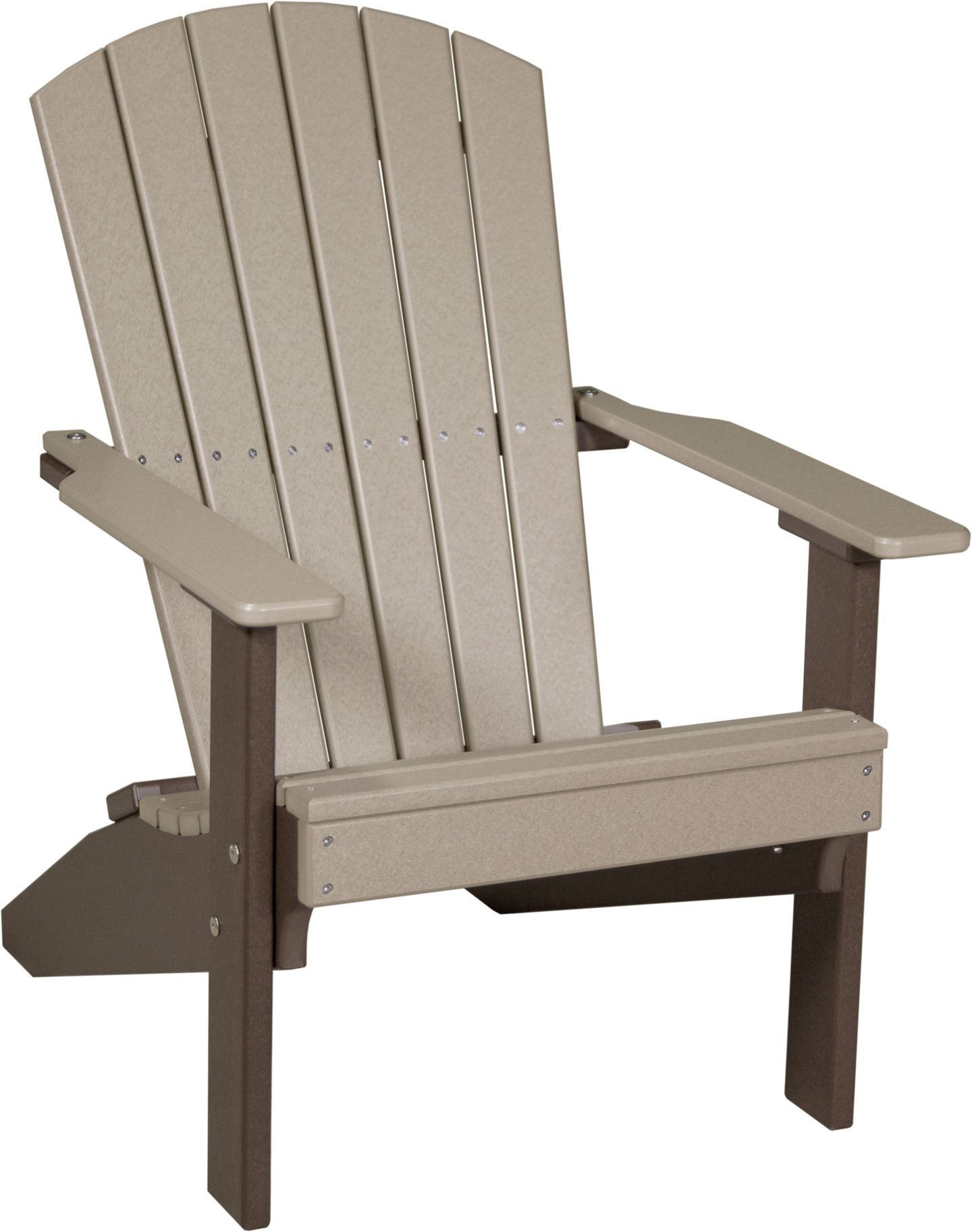 luxcraft lakeside recycled plastic adirondack chair plastic