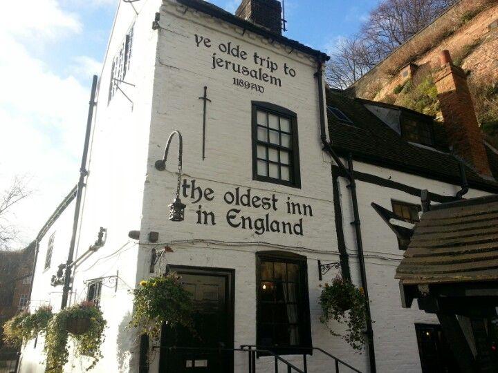Ye Olde Trip to Jerusalem in Nottingham, Nottingham