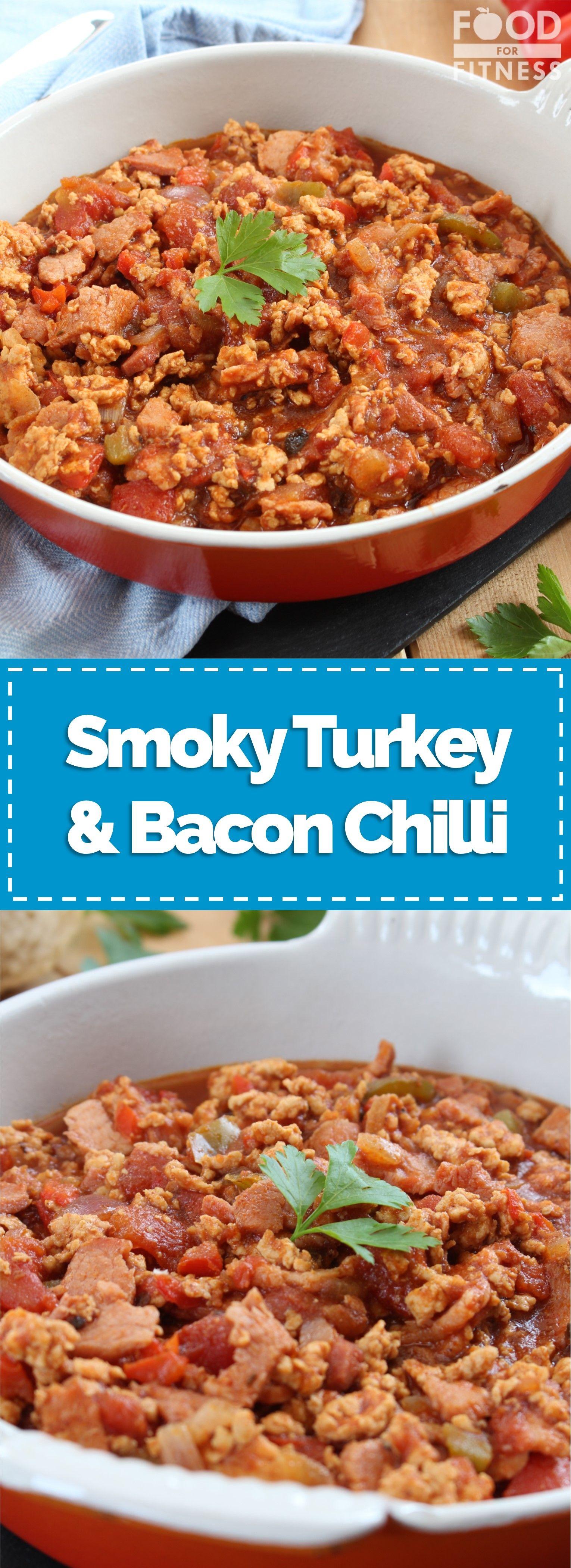 Bacon & Turkey Chilli | Recipe | Turkey chilli, Turkey ...
