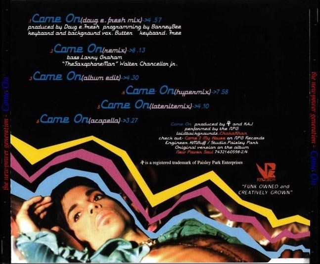 """""""'Come On' Maxi Single - 1998 """""""