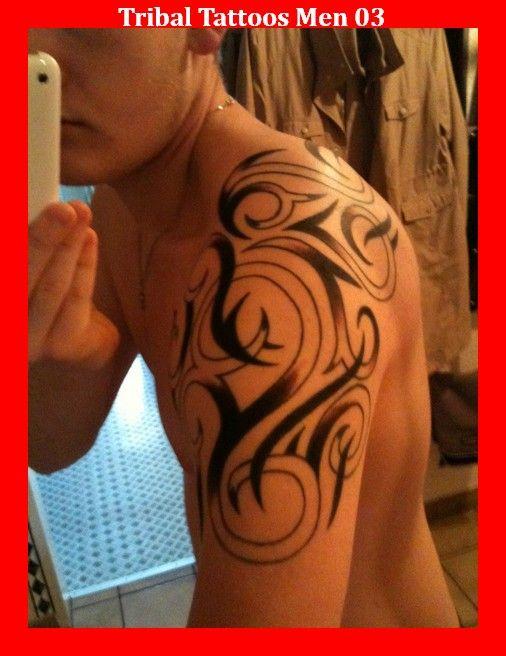 tribal tattoos men 03 tatoos pinterest tattoos m nner tattoo vorlagen und schulter. Black Bedroom Furniture Sets. Home Design Ideas