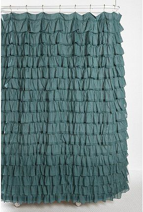 Love This Would Be Gorgeous In Pink Ruffle Shower Curtains