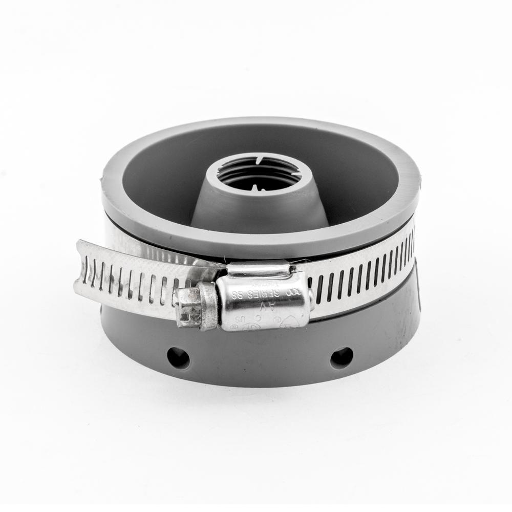 American Valve Flexible Connector 2 In Flexible Pvc For Cast Iron