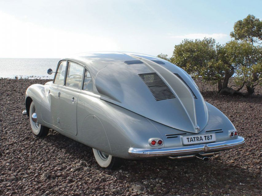 The Tatra T87 Was A GroundMoving Zeppelin Classic