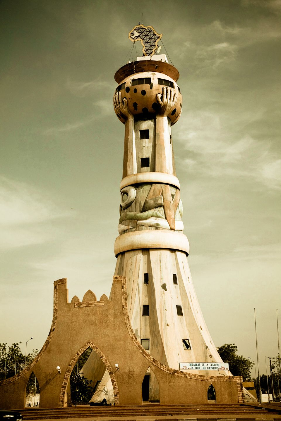 Tower In Mali West Africa African Travel West Africa Africa