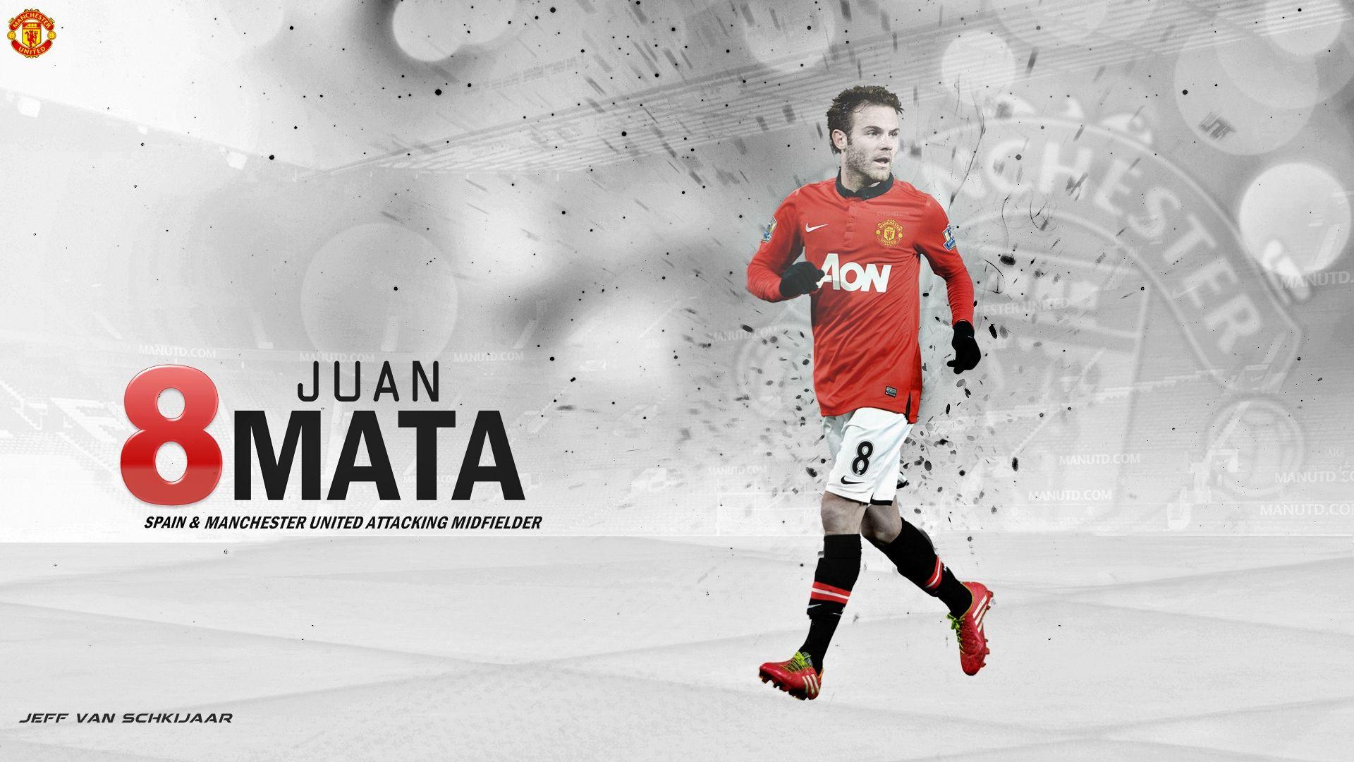 Juan Mata Manchester United Wallpaper HD 2014 #1 (With