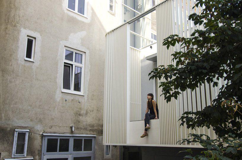 Smartvoll Renovates Viennese House Enclosed By An Elegant Dress