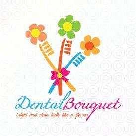 #Dental #Bouquet #Logo