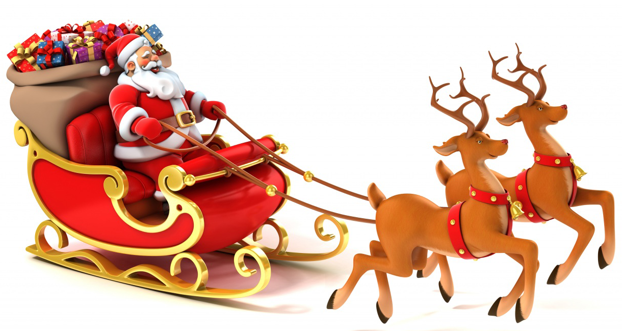 La Navidad Papa Noel 1 Png 1220 215 649