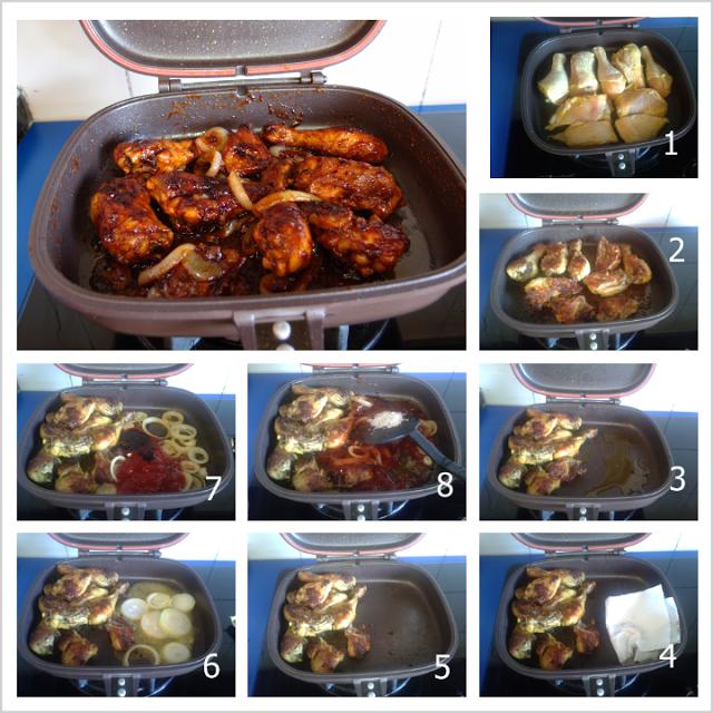 Buffalo Chicken Using Happy Call Pan Makanan Dan Minuman Buffalo Chicken Resep Makanan