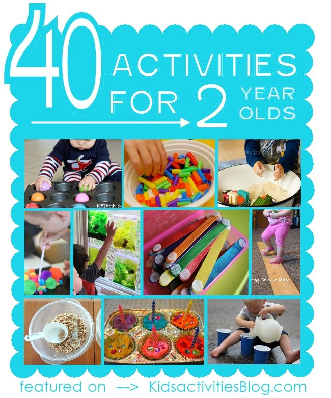 40 Activities For 2 Year Olds Kid Stuff Activities For 2 Year