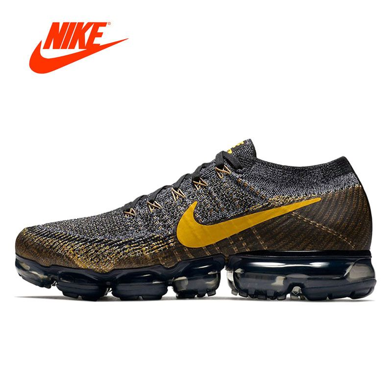 Bangladesh trimestre fractura  Original New Arrival Authentic Nike Air VaporMax Flyknit Men's Running  Shoes Sport Outdoor Sneakers Good Quality 849558-009