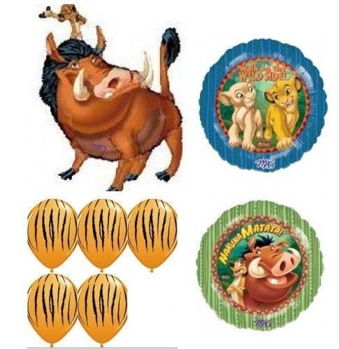 Lion King Balloon Birthday Party Supplies 8 pc set