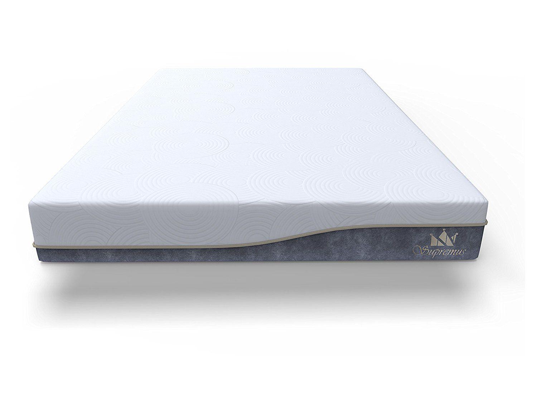 supremus grandbreeze mattress 12 inch gel memory foam full be