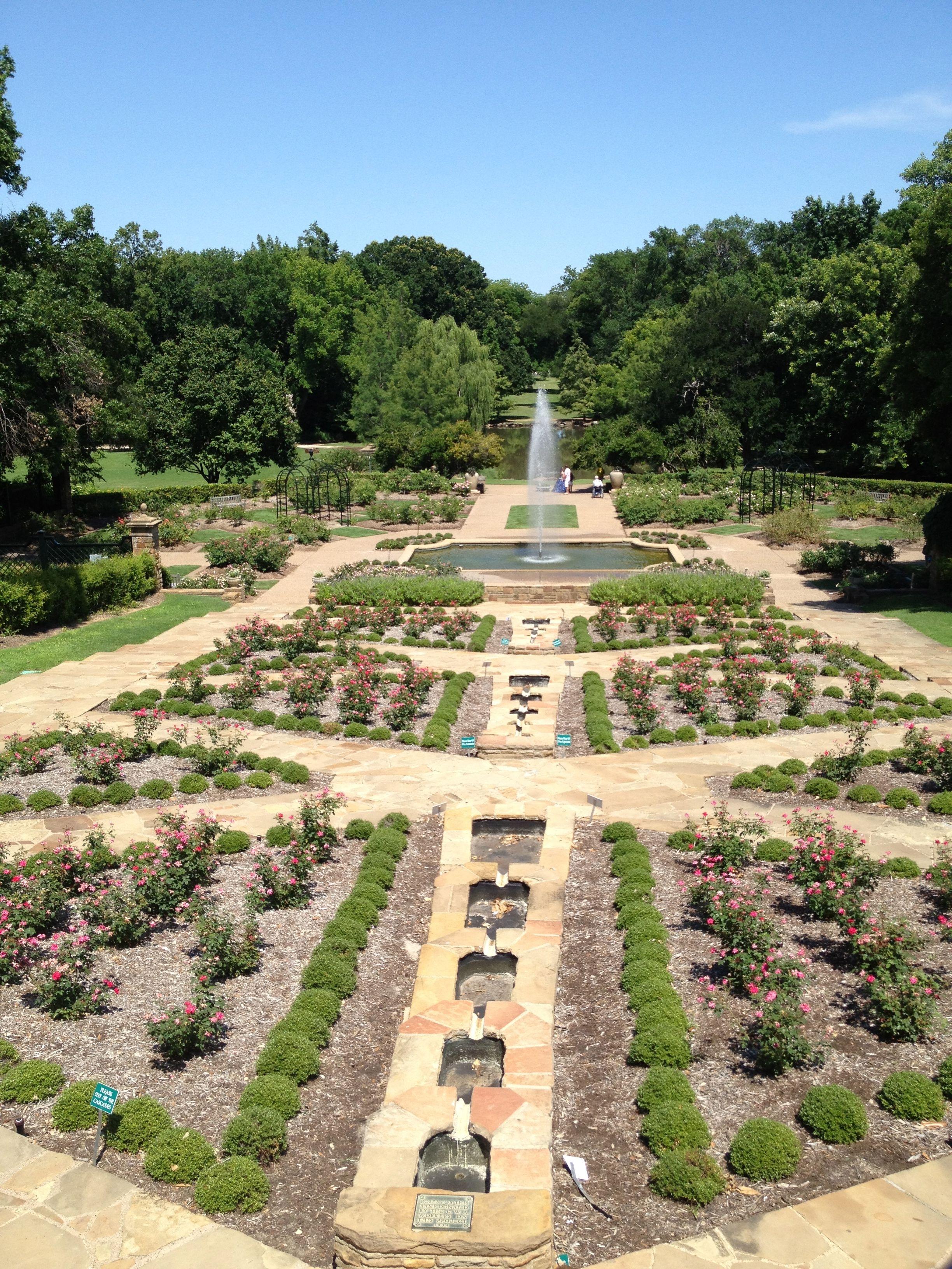 Ft Worth Botanical Gardens Botanical Gardens Garden Places To See