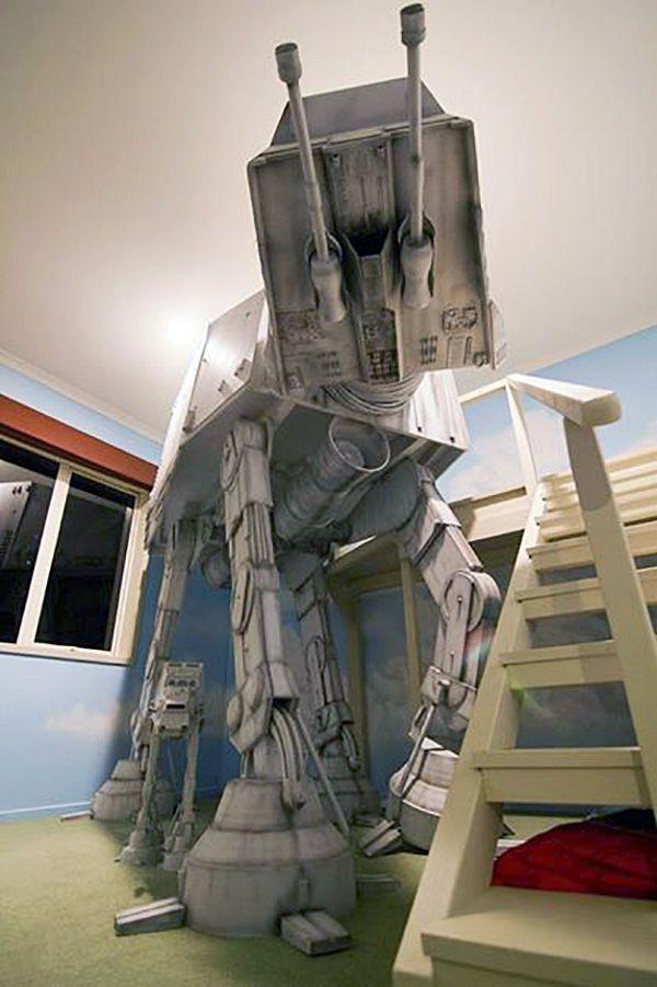 At At Bunk Bed Geekyget Home Amp Living Star Wars Star