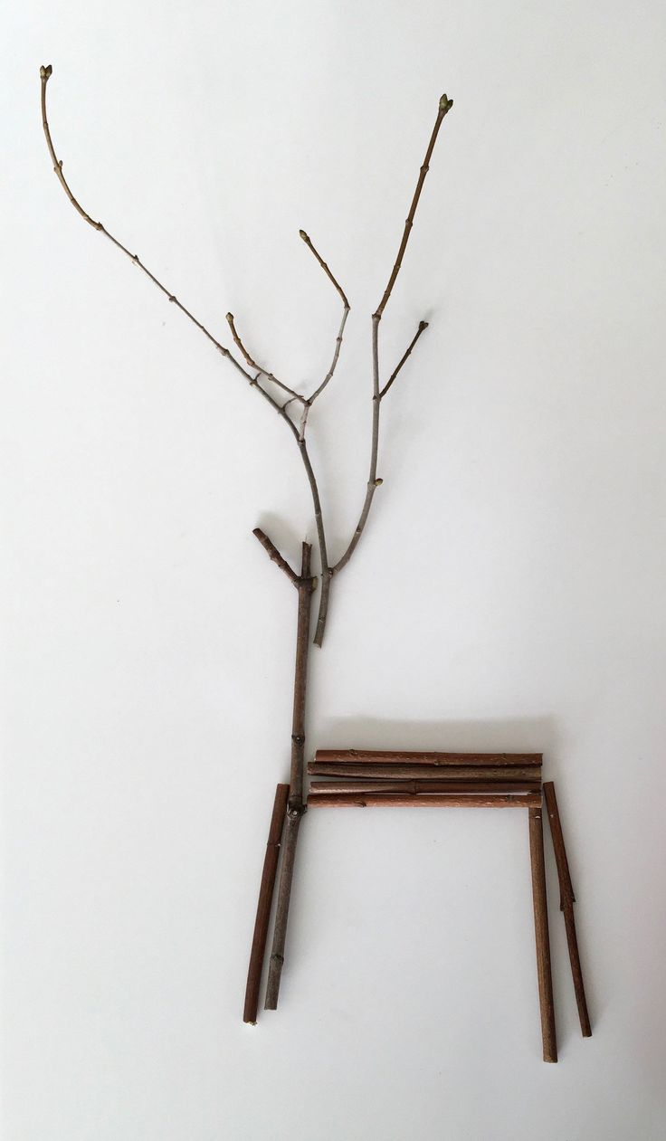 How to Make Twig Reindeer - Home for the Harvest