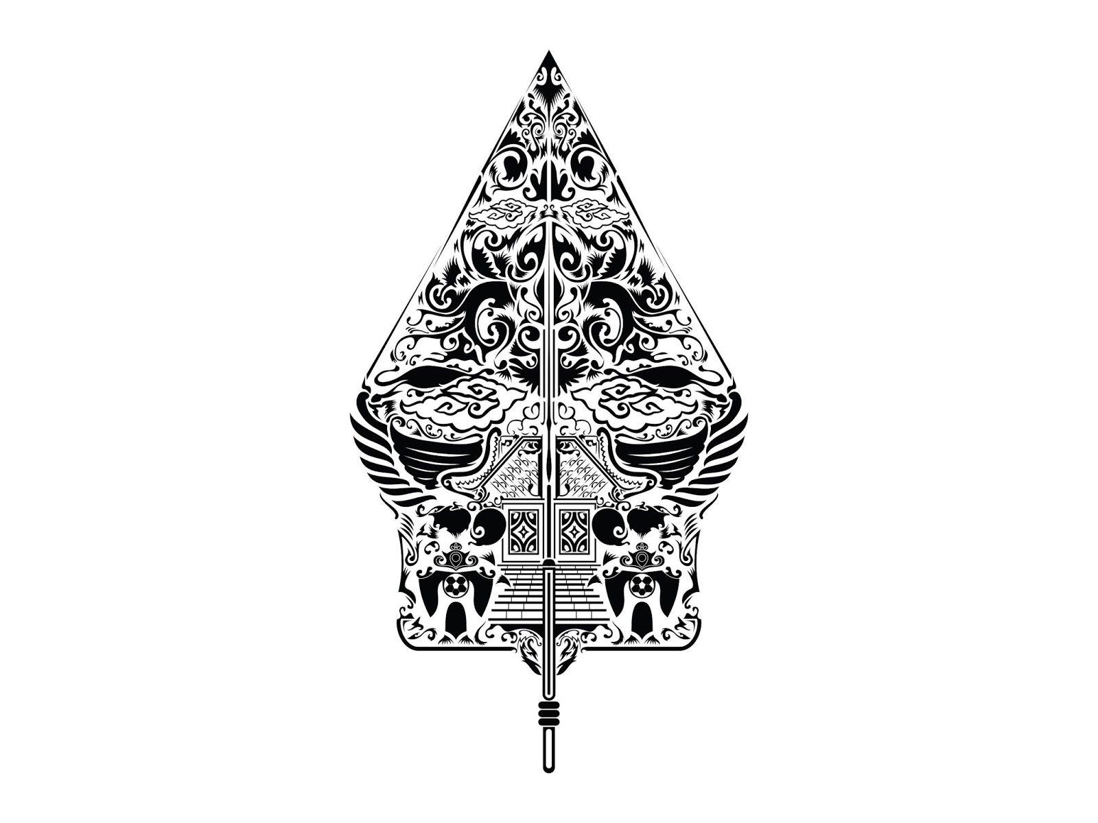 Hasil gambar untuk gunungan wayang vector Graphic design