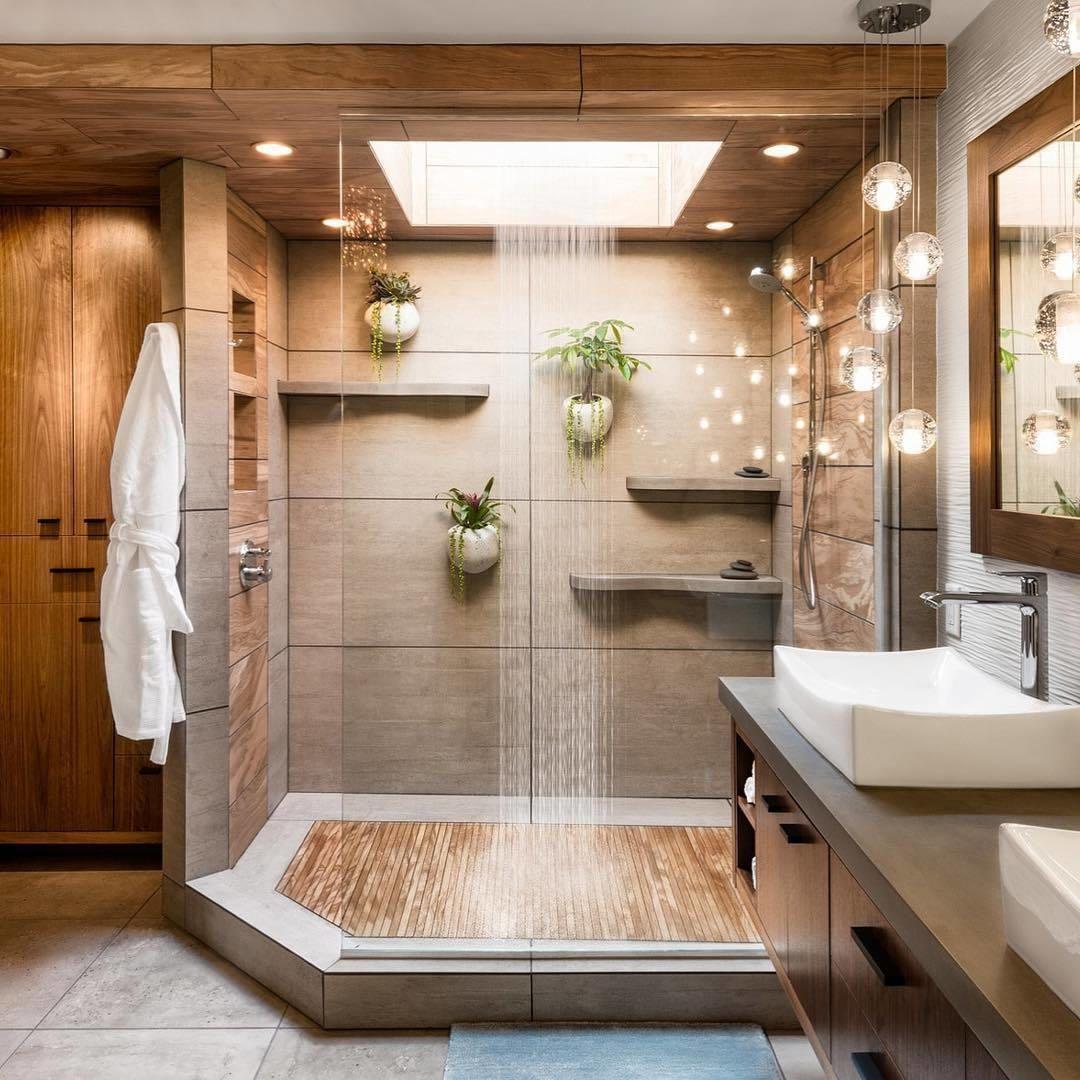 25 Stylish Bathroom Design Ideas For The Fastest And Freshest Makeover Bathroom Shower Design Bathroom Interior Design Bathroom Design