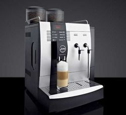 Jura X9 ... With its elegant design and highest-quality materials, this luxury machine with its cool Nordic style not only has an appealing exterior, but easily fulfils the most sophisticated coffee wishes of customers, guests and colleagues. In addition to such classic specialities such as ristretto, espresso and coffee, the IMPRESSA X9 Win also makes contemporary drinks such as cappuccino or latte macchiato at the touch of a button. #juracoffeemachine Jura X9 ... With its elegant design and hi #lattemacchiato