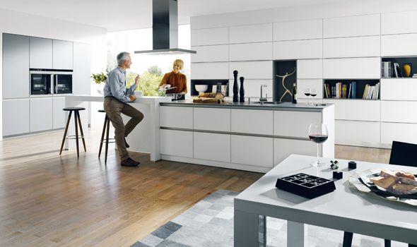 schüller - glasline Küche Pinterest Handleless kitchen, Modern - modern küche design
