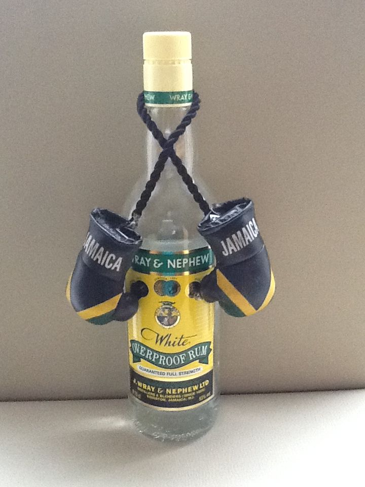 Wray and nephew 63% proof, don't mess with this stuff!! Lethal