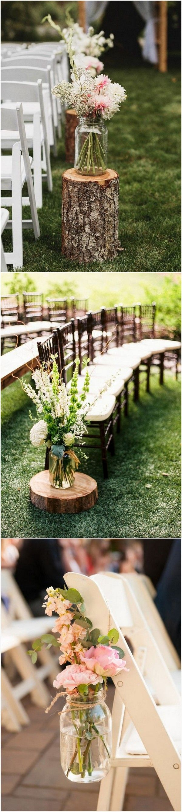 Garden wedding aisle decor   Trending Wedding Aisle Decoration Ideas Youull Love  Page  of