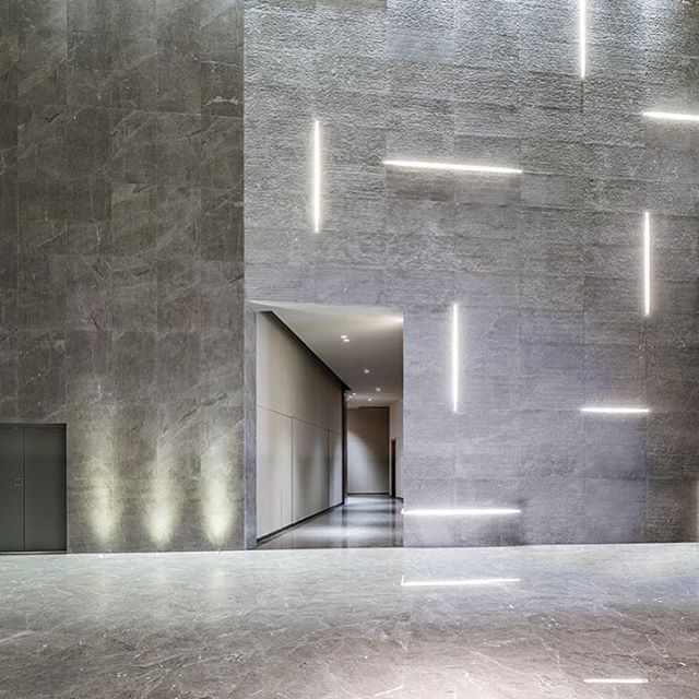ccd  cheng chung design scattered a galaxy of luminous linear light sculptures around reception