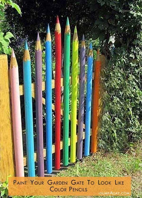 34 simple and inexpensive DIY ideas to beautify the garden and yard CooleTipps.de