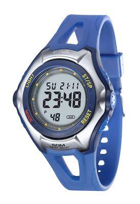 Orologio multifunzione Dunlop - cinturino in gomma blu