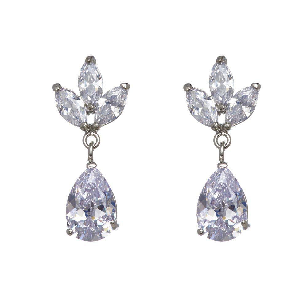 NYK Vintage long drop chandelier post earrings F2uq6Md