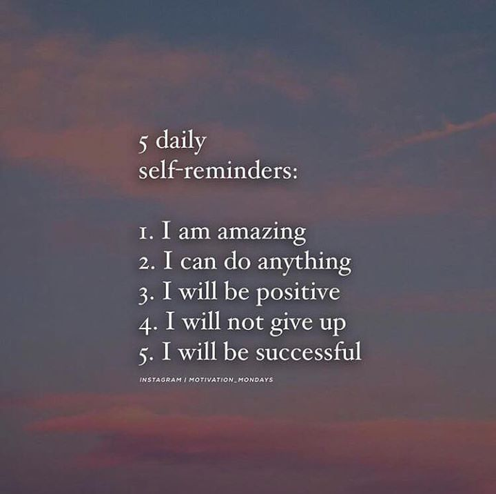 5 Daily Self Reminders Positive Quotes Self Reminder Granted Quotes