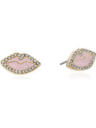 Kate Spade New York Women S Love List Studs Earrings Light Pink Stud Jewelry