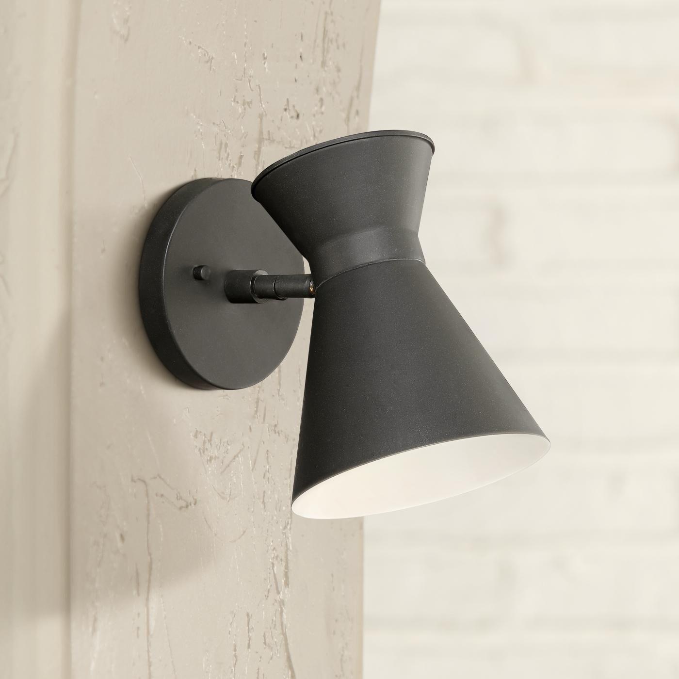 Vance 8 Inch High Black Led Outdoor Wall Light Led Outdoor Wall Lights Outdoor Wall Lighting Outdoor Wall Light Fixtures