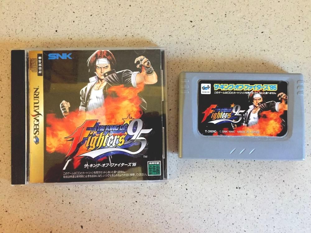 #sega saturn the king of fighters '95 (japan import) us seller from $12.5