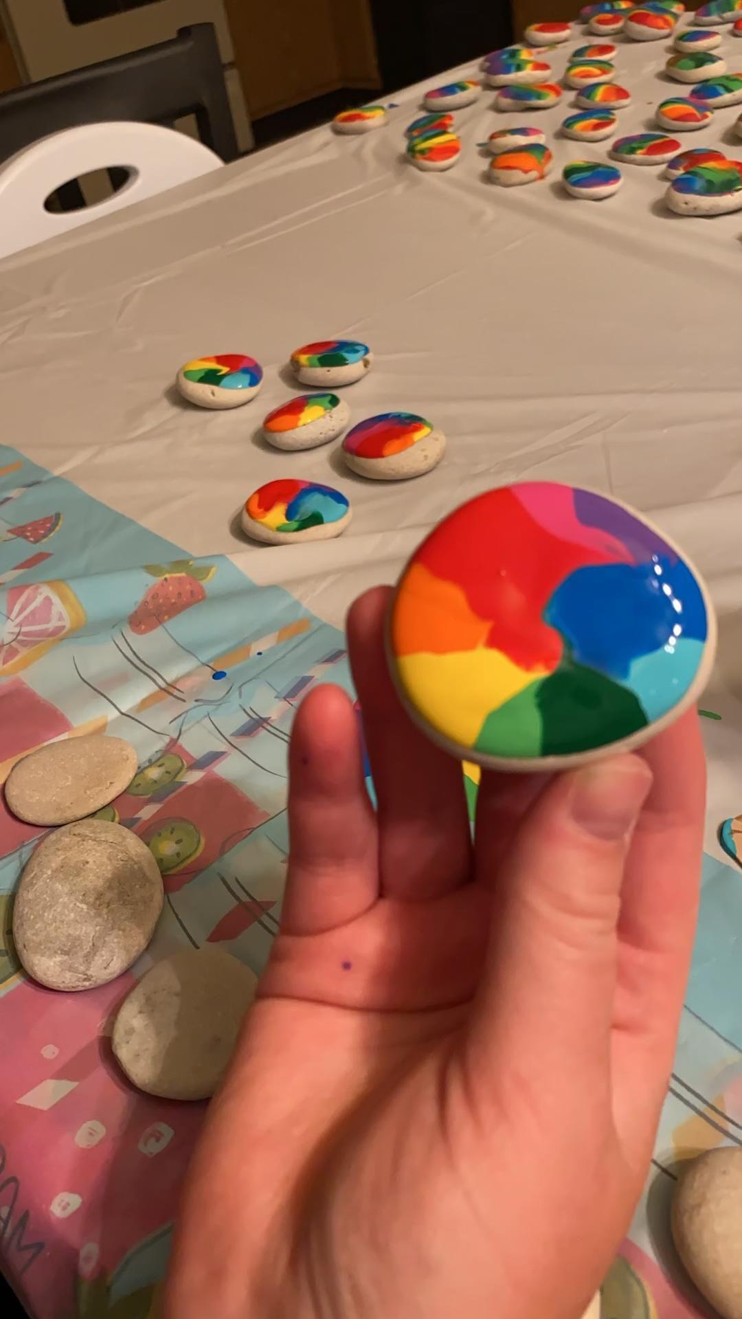 DIY Rock Painting Ideas | Rainbow Art