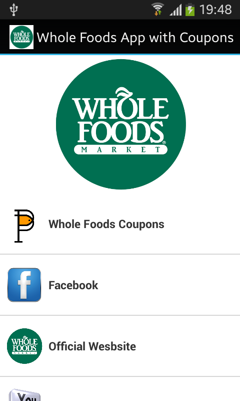 Amazon Com Whole Foods App With Coupons Appstore For Android
