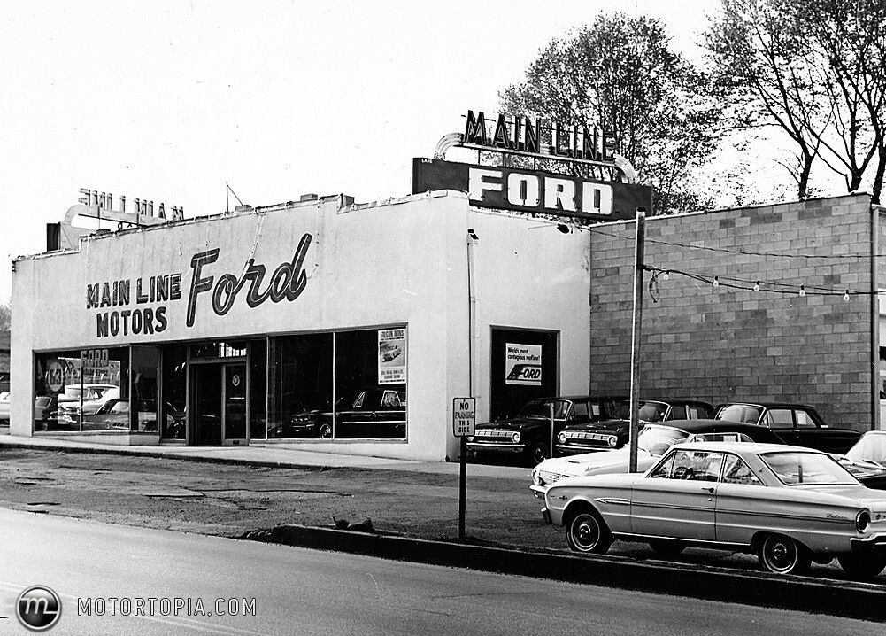 Ford Dealer To 1960 We Can See Several Of Those Years Ford Falcon