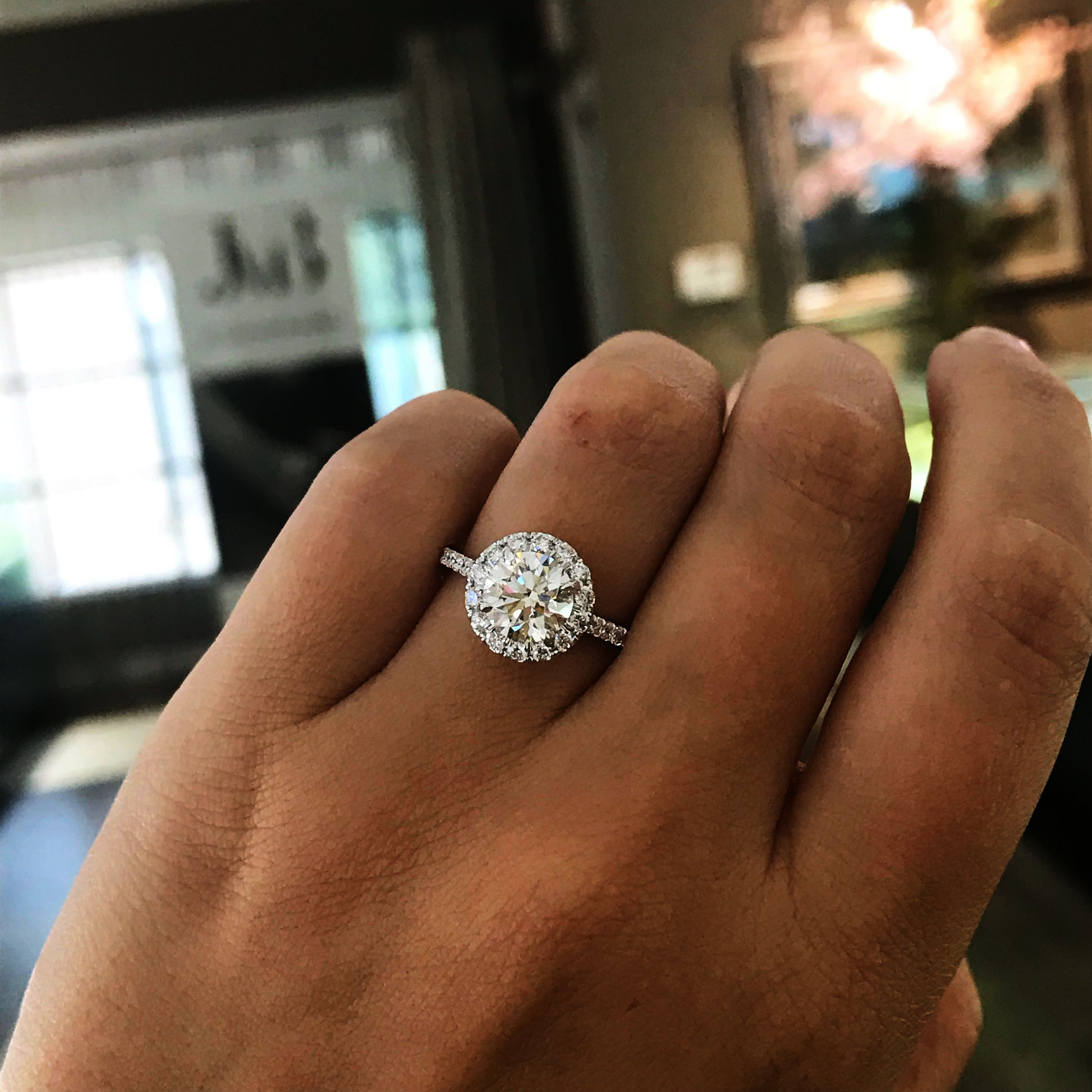 Jewelry Stores Near Me Now Once Round Diamond Engagement