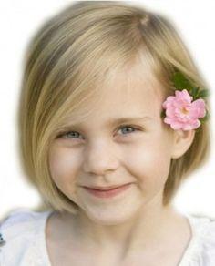 Young Girls Short Hairstyle Httphairstyliccomyounggirls - Girl haircut medium