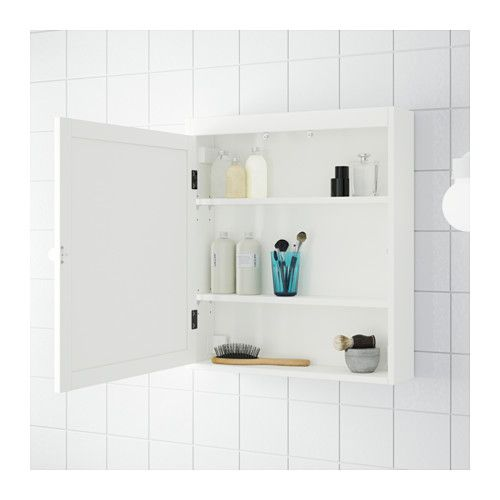 SILVERÅN Mirror cabinet -  IKEA  ** SOMETHING LIKE THIS FOR CLUTTER OVER DRESSER IN BEDROOM