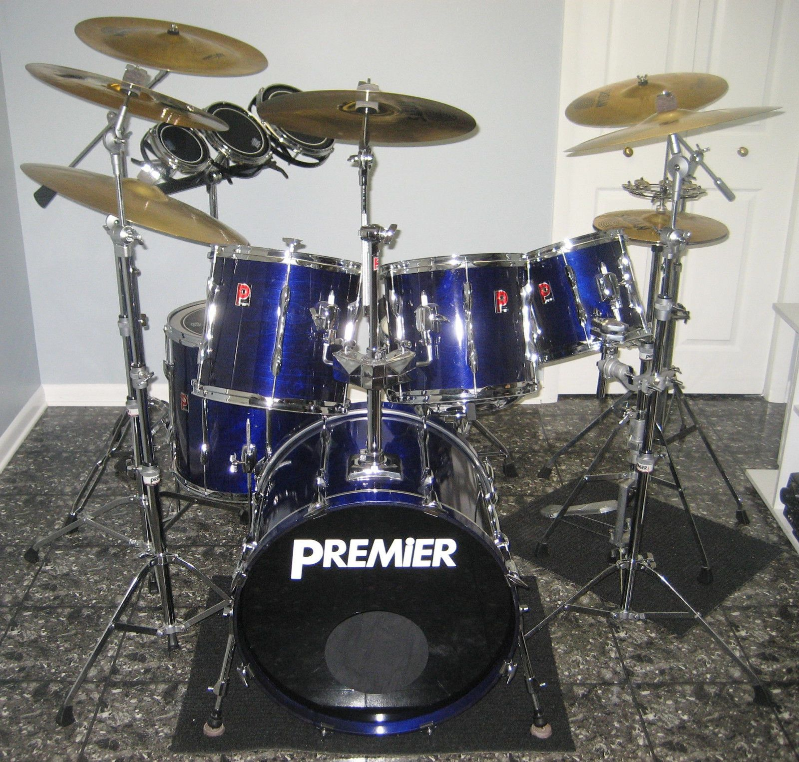 premier xpk 6 piece drum kit made in england everything included common shopping in 2019. Black Bedroom Furniture Sets. Home Design Ideas