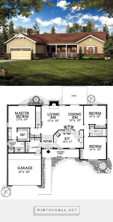 House Plan Chp 19788 At COOLhouseplans.com   Created Via  Https://pinthemall.net