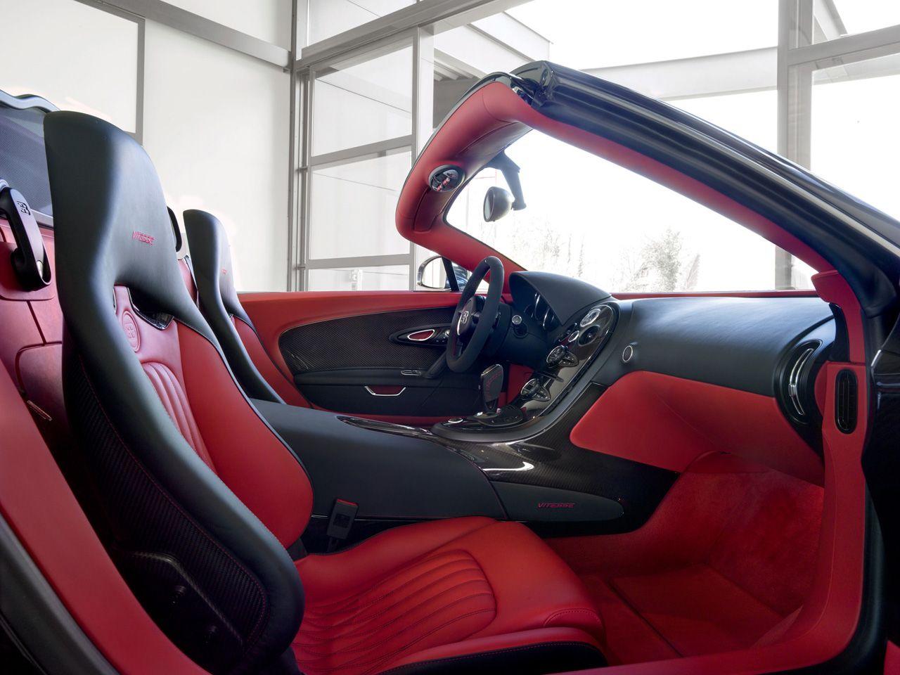 2012 Bugatti Veyron Grand Sport Vitesse Black And Red Bugatti
