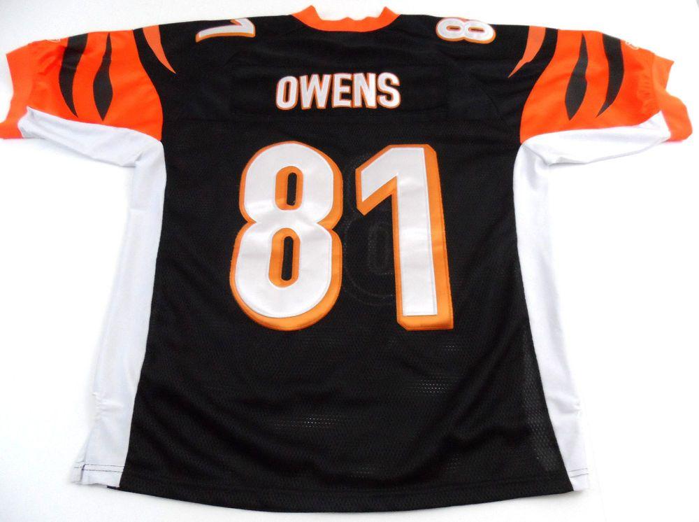 cheap for discount 9664b 0a051 Terrell Owens CINCINNATI BENGALS Reebok On Field 48 Jersey ...