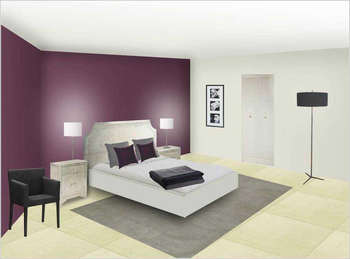Chambre Avec Mur Blanc Deco  Deco chambre, Deco chambre a coucher
